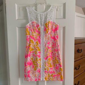 Sofia Lace Shift Dress